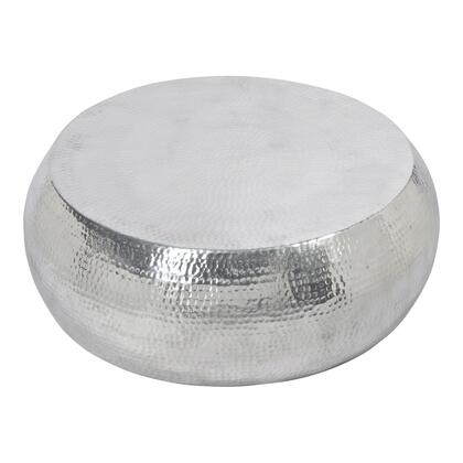 Tabla Collection FI-1030-30 Coffee Table with Aluminum Frame in Silver