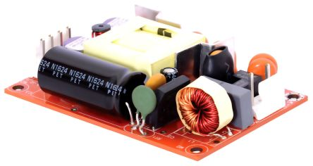 EOS , 40W Embedded Switch Mode Power Supply SMPS, 12V dc, Open Frame, Medical Approved