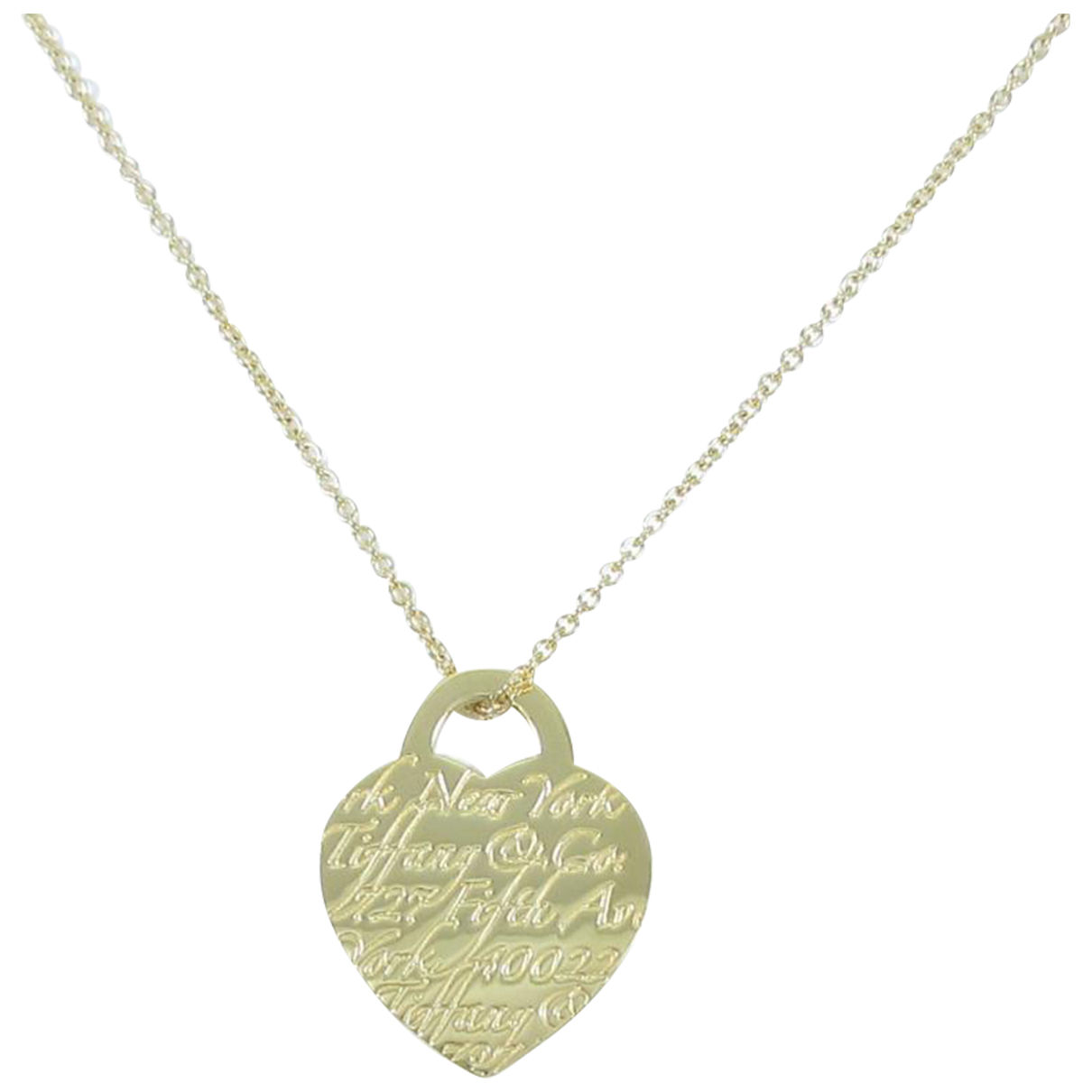 Tiffany & Co - Collier Return to Tiffany pour femme en or jaune - dore