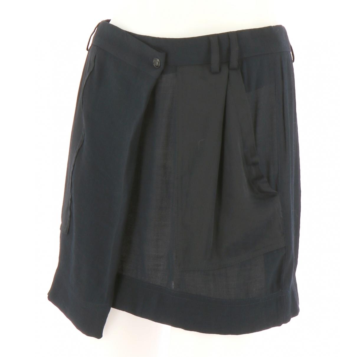 The Kooples \N Black Cotton skirt for Women 38 FR