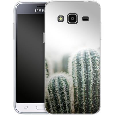 Samsung Galaxy J3 (2016) Silikon Handyhuelle - Cactus 1 von Mareike Bohmer