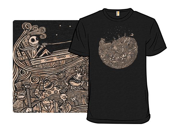 Flight Of The Pumpkin King T Shirt