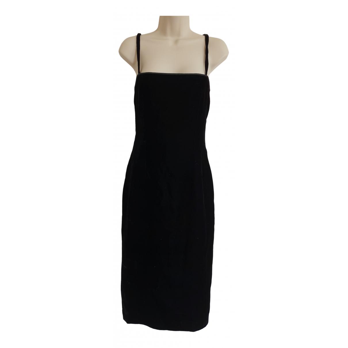 Carven - Robe   pour femme en velours - noir