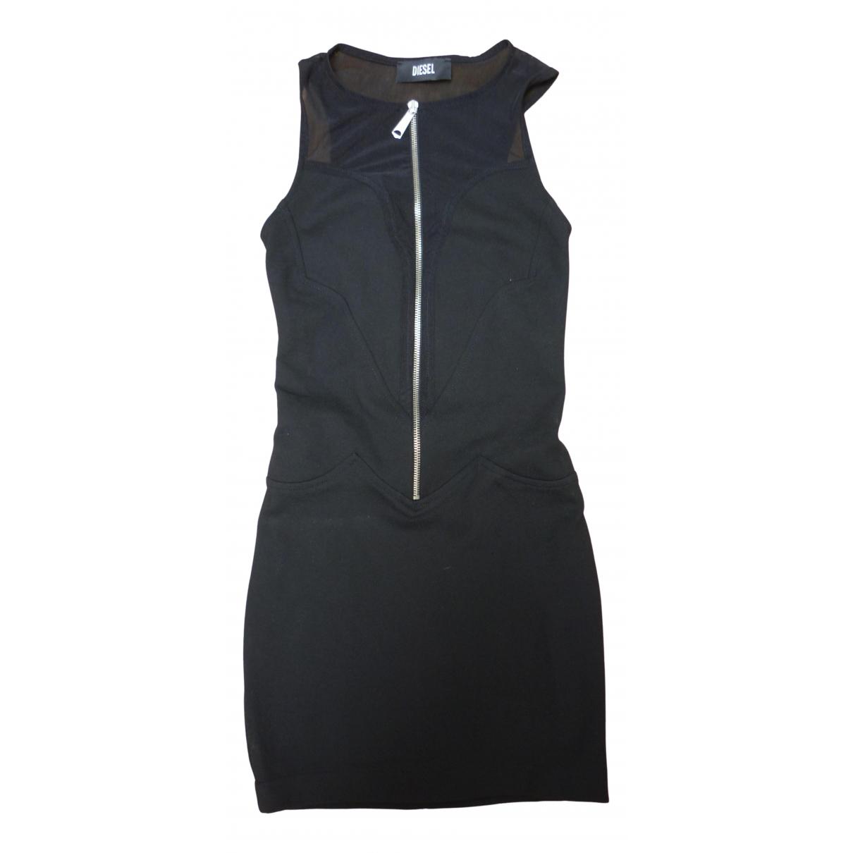 Diesel - Robe   pour femme - noir