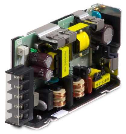 Cosel , 75W Embedded Switch Mode Power Supply SMPS, 15V dc, Open Frame