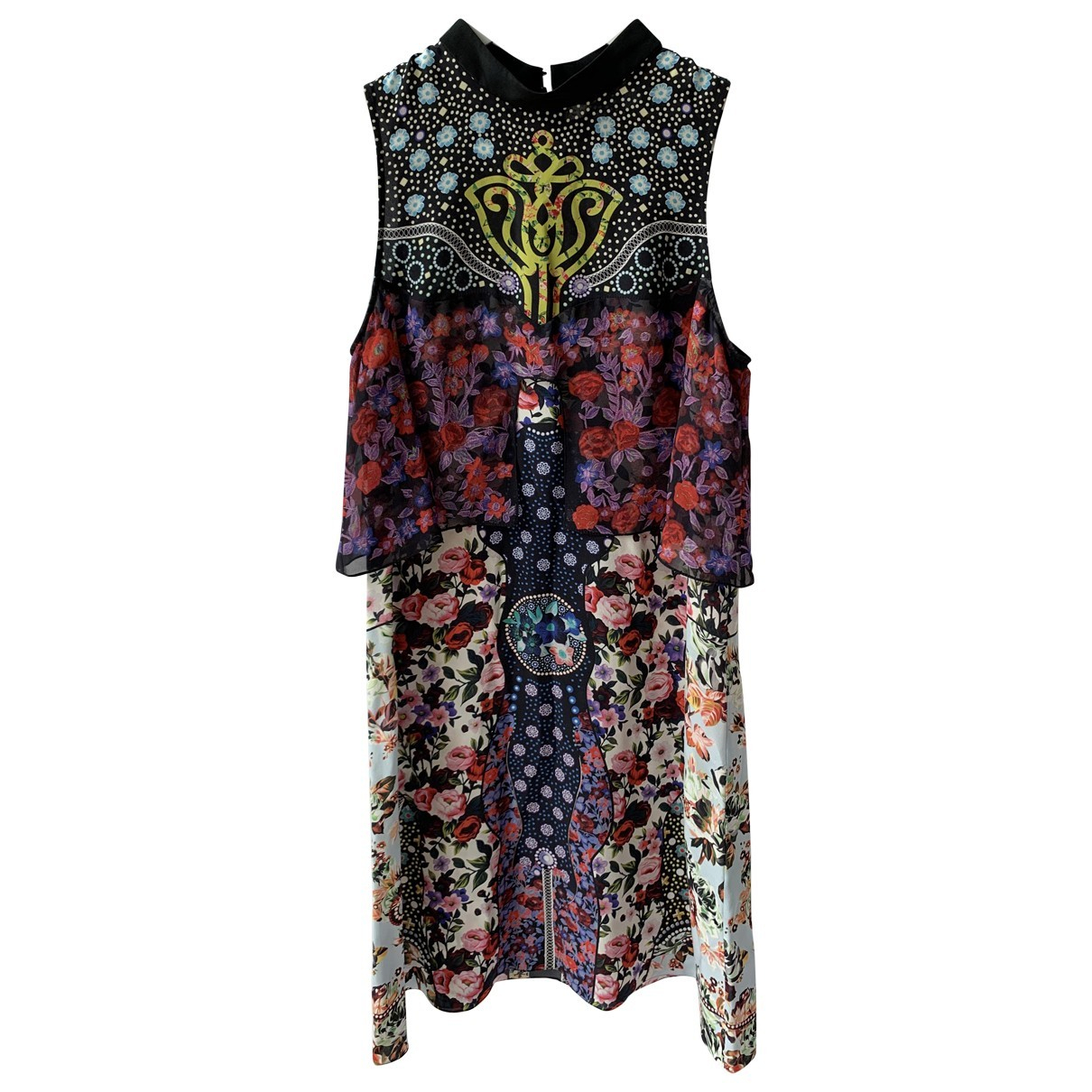 Mini vestido de Seda Mary Katrantzou