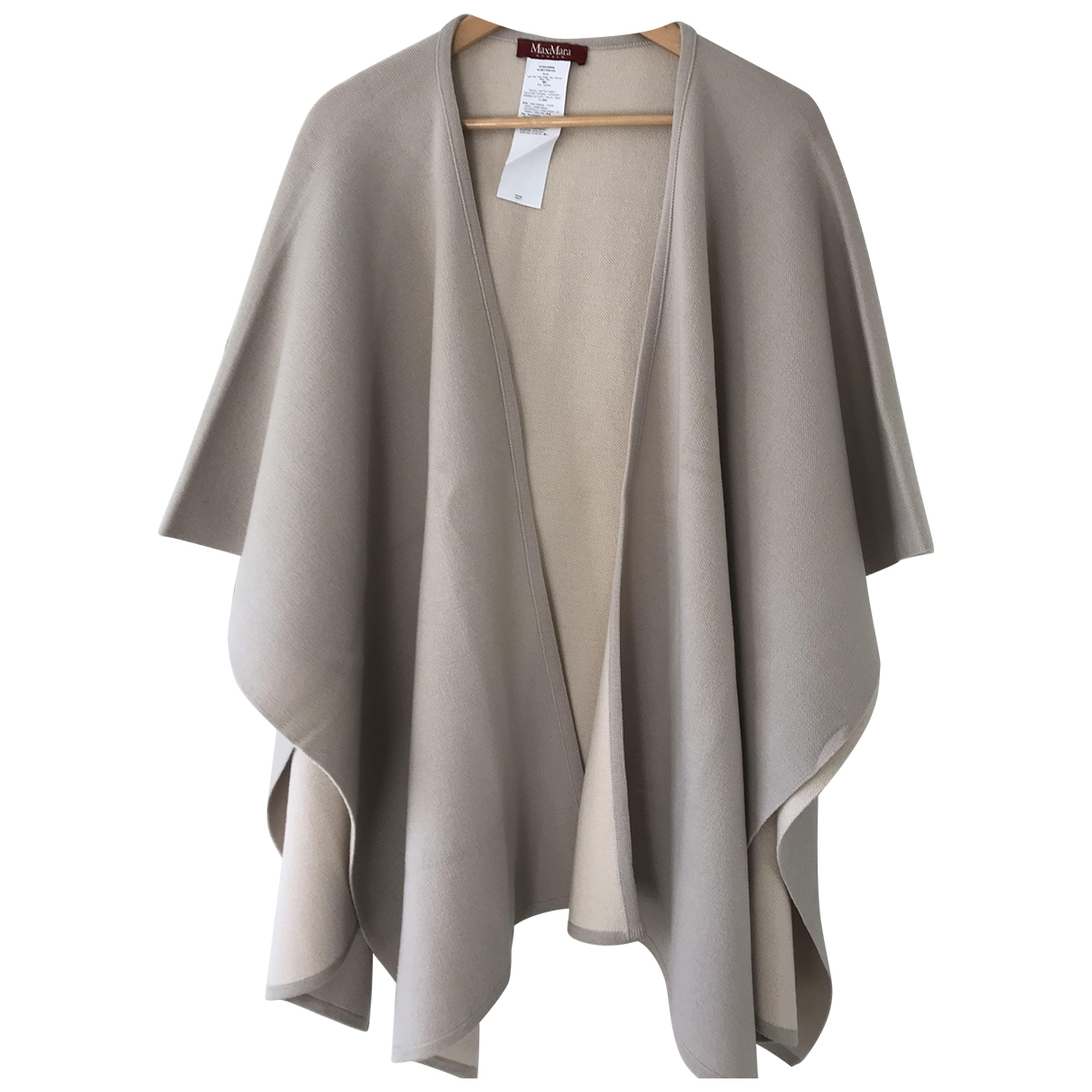Max Mara Studio \N Beige Wool coat for Women S International
