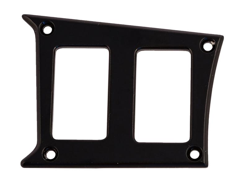 Center Dash Left Side 2 Switch Plate for Polaris RZR Matte Black PRP Seats ODL-217341
