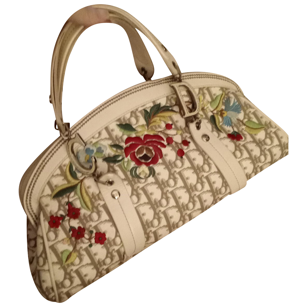 Dior Détective White Cloth handbag for Women N