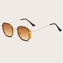 Gafas de sol con montura geo para hombre