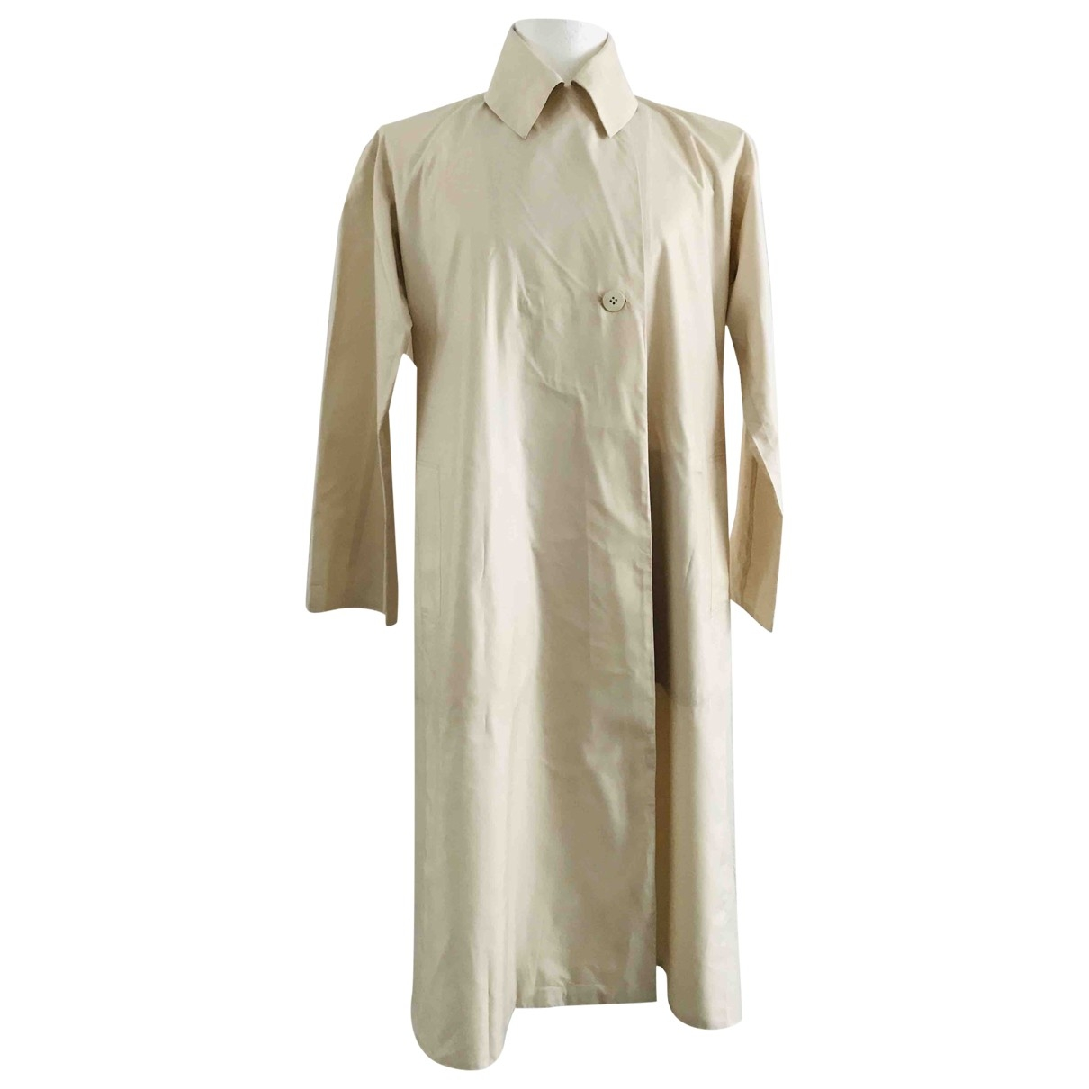 Issey Miyake - Manteau   pour femme - beige