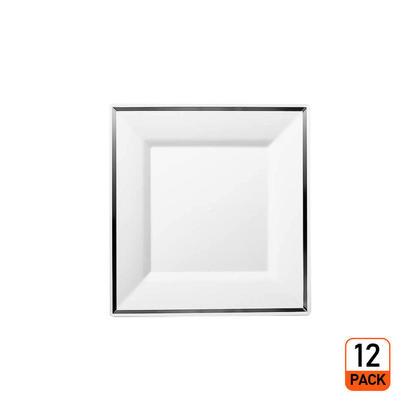Premium Plastic Square Plate 6.5