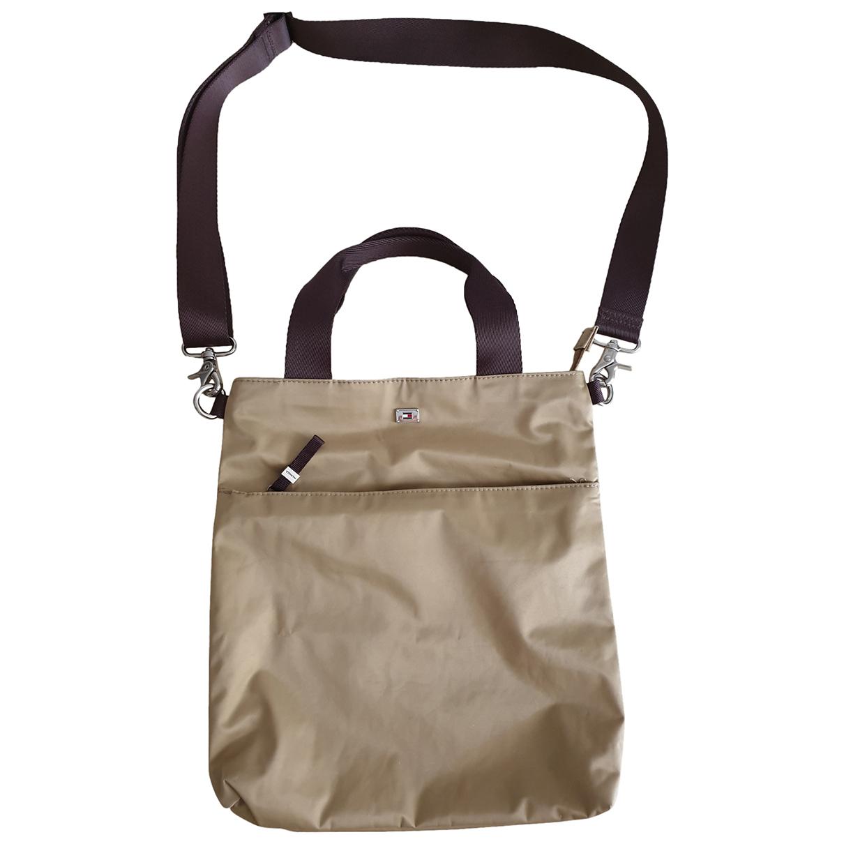 Tommy Hilfiger \N Handtasche in  Ecru Polyester