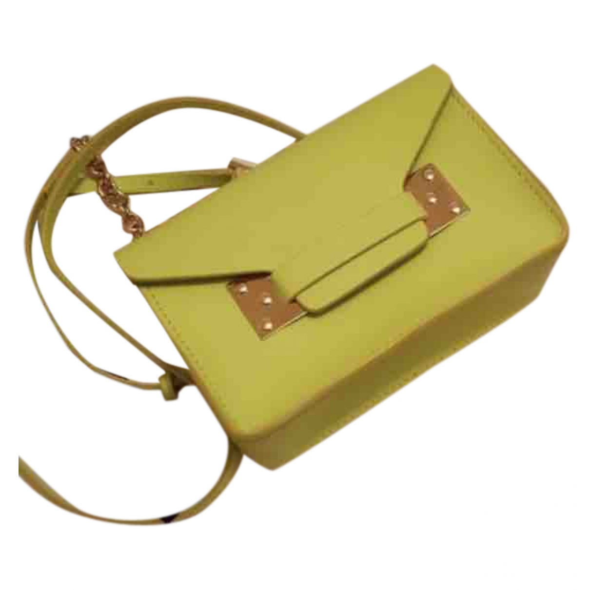 Sophie Hulme \N Handtasche in Leder