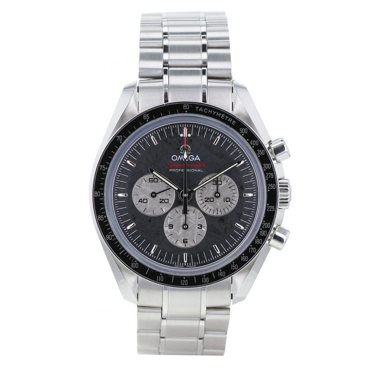 Omega Speedmaster Khaki Steel watch for Men \N