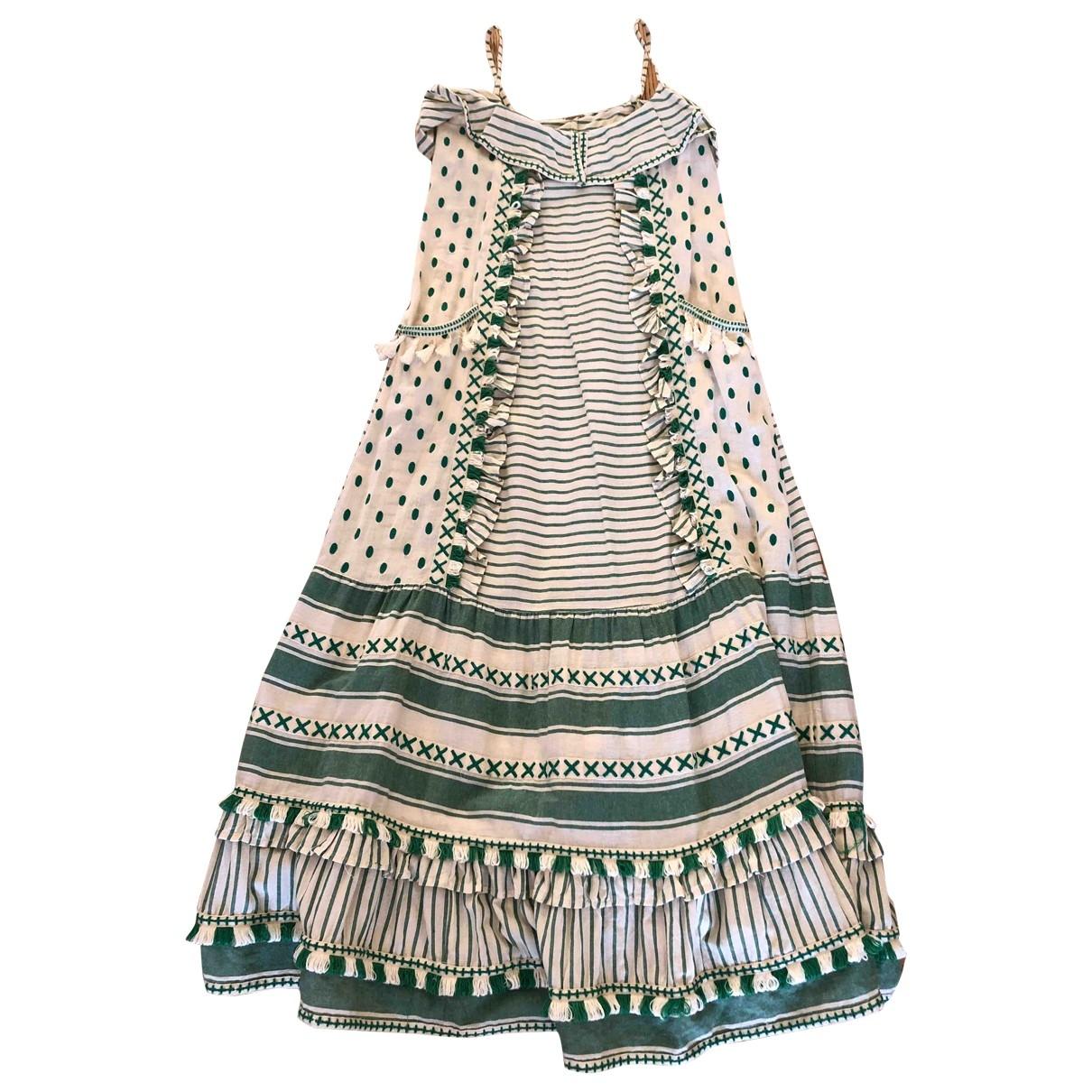 Dodo Bar Or \N Kleid in  Ecru Baumwolle
