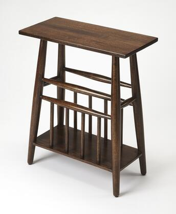 Bowen Collection 4426140 Magazine Table with Modern Style  Rectangular Shape and Mango Wood Solids in Butler Loft