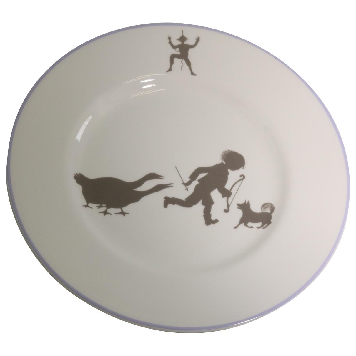Hermes - Arts de la table   pour lifestyle en ceramique - blanc