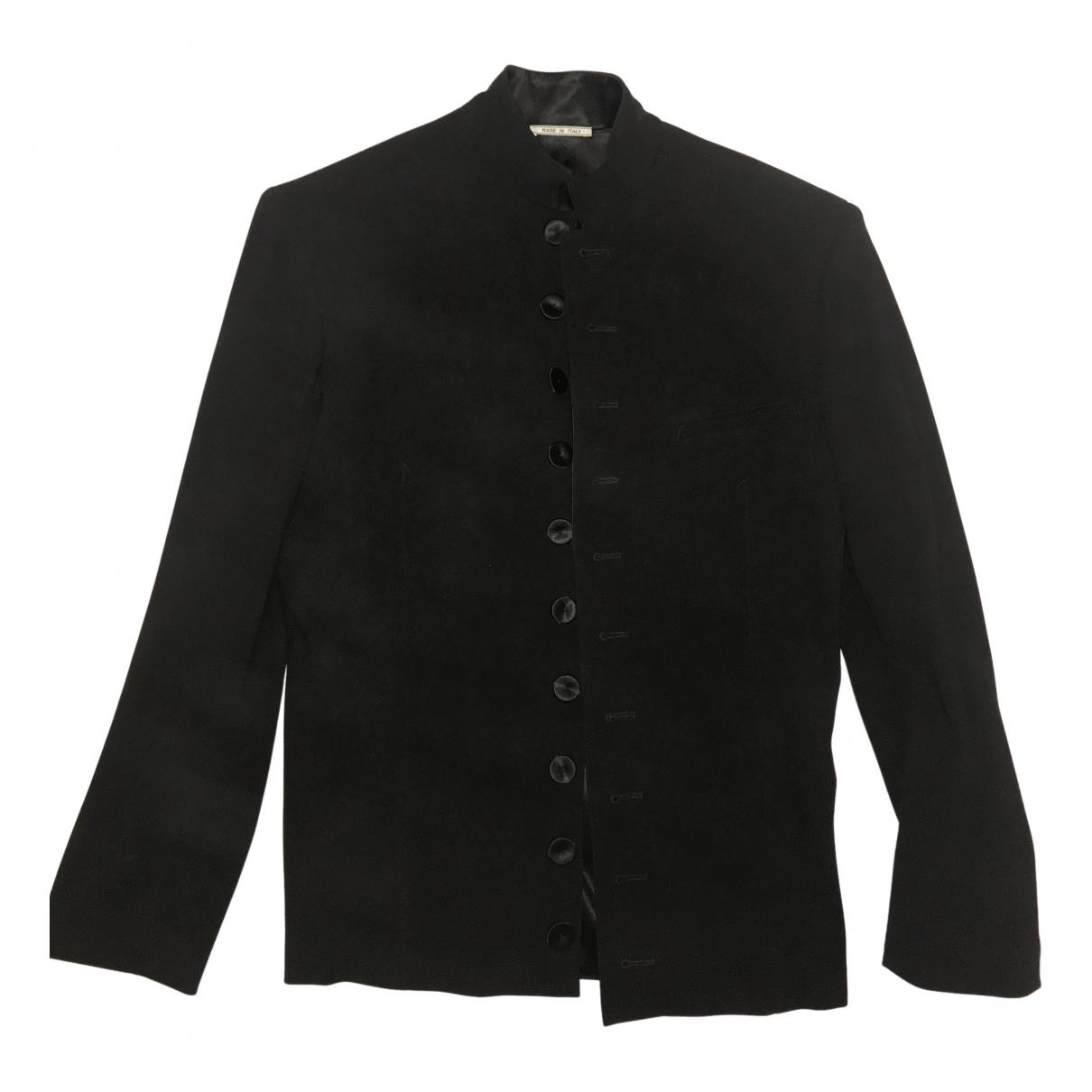 Jean Paul Gaultier \N Blue Wool jacket  for Men 48 IT
