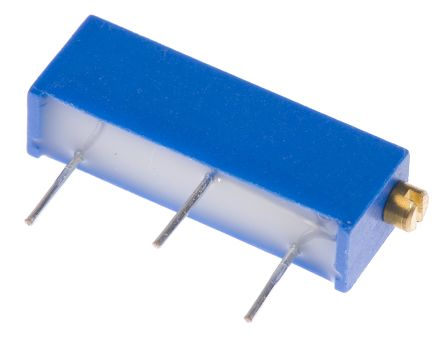 Bourns 5kΩ, Through Hole Trimmer Potentiometer 0.75W Side Adjust , 3006 (25)