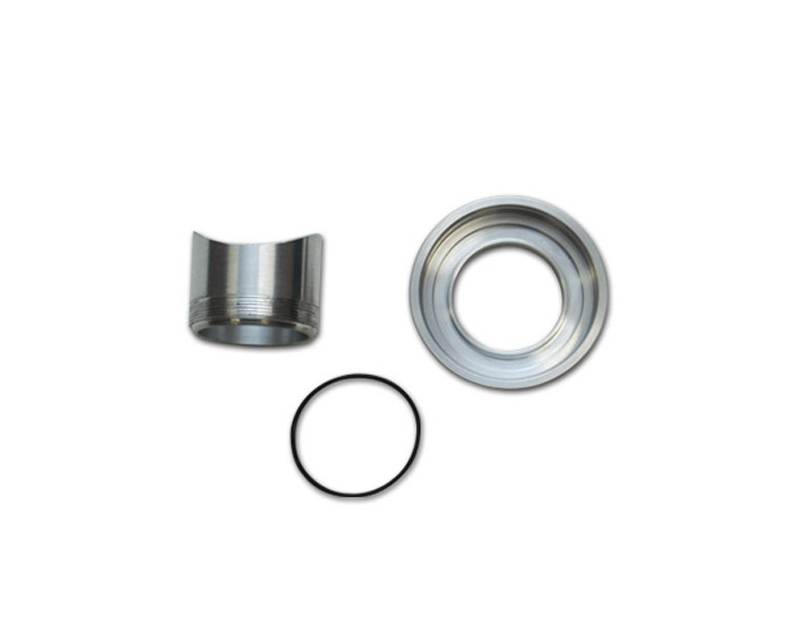 Vibrant Performance 1451 6061 Aluminum Weld On Fitting and Flange Kit for HKS SSQ Style Blow Off Valve