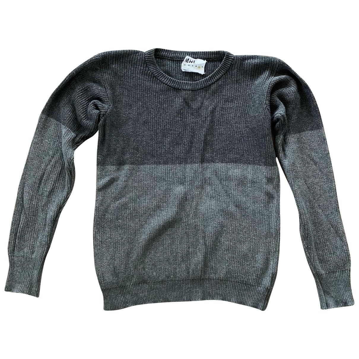 Margaret Howell - Pulls.Gilets.Sweats   pour homme en coton - gris