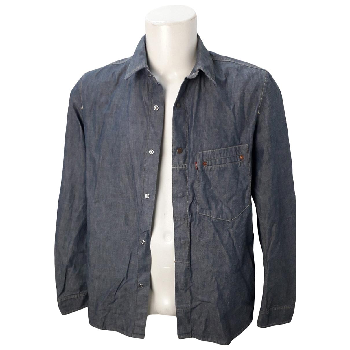 Levi's \N Blue Denim - Jeans Shirts for Men M International