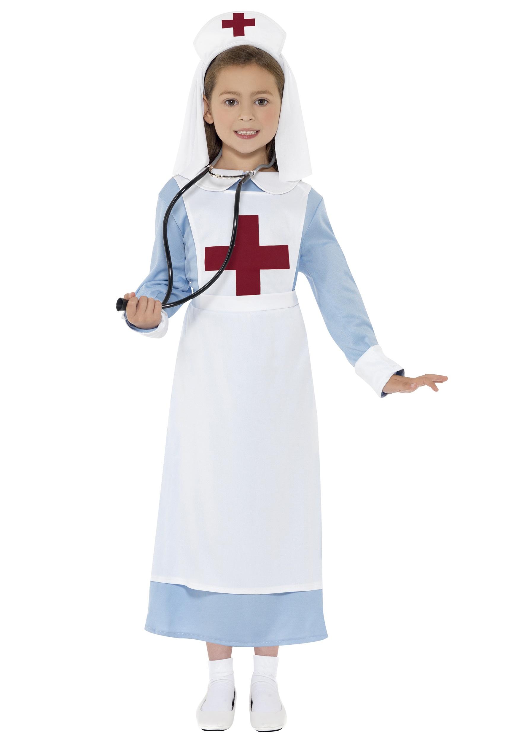 WWI Nurse Girls Costume