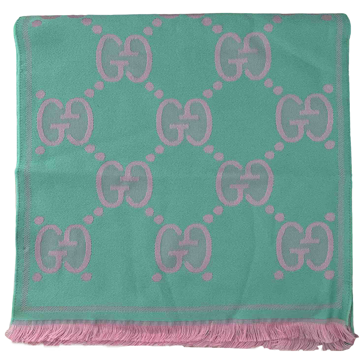 Gucci N Green Wool scarf for Women N