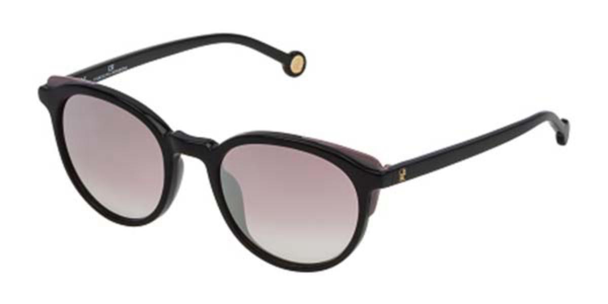 Carolina Herrera SHE742 700G Mens Sunglasses Black Size 50