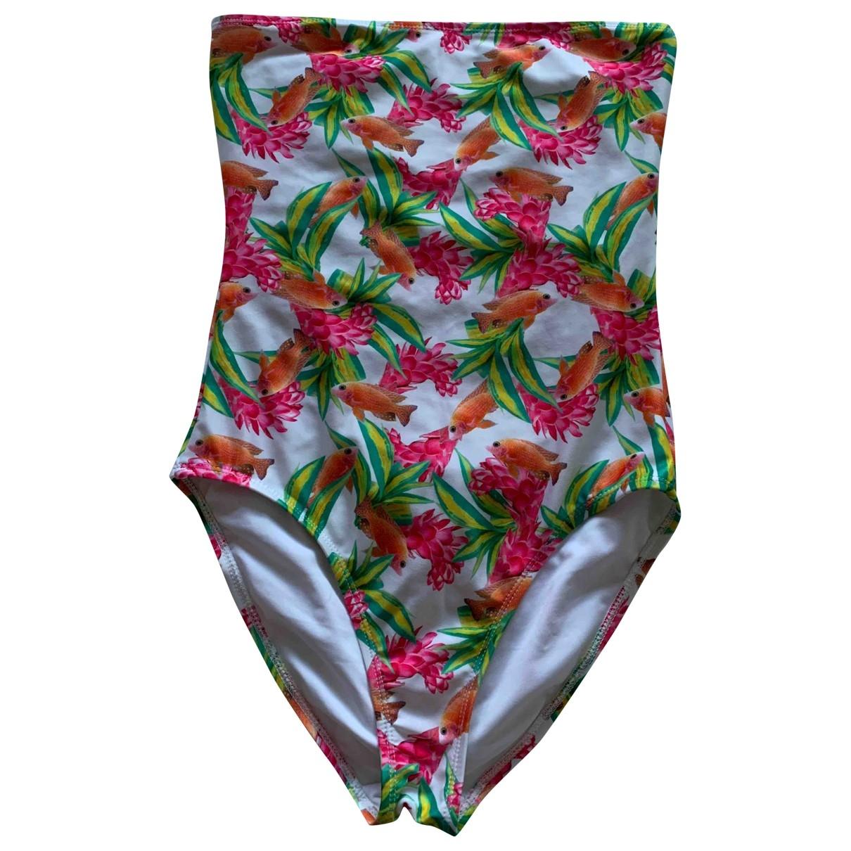 Asos \N Badeanzug in  Bunt Polyester