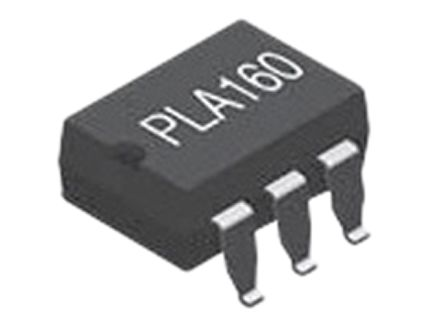 IXYS 50 mA rms/mA dc, 80 mA dc SPNO Solid State Relay, AC/DC, Surface Mount, Relay