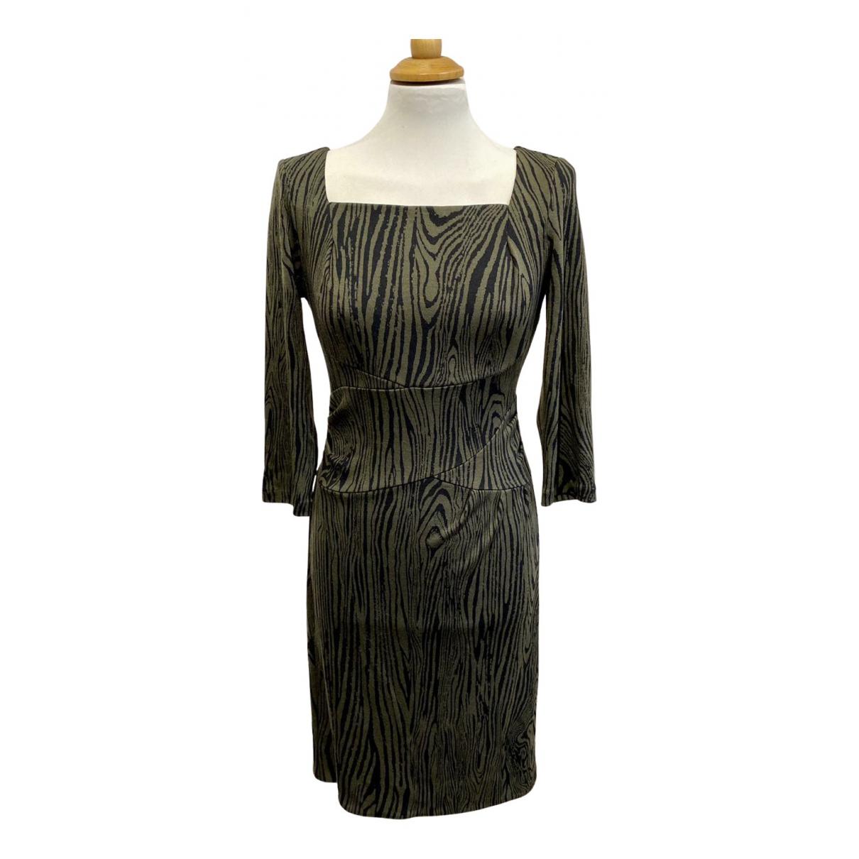 Diane Von Furstenberg N Green Wool dress for Women 4 US