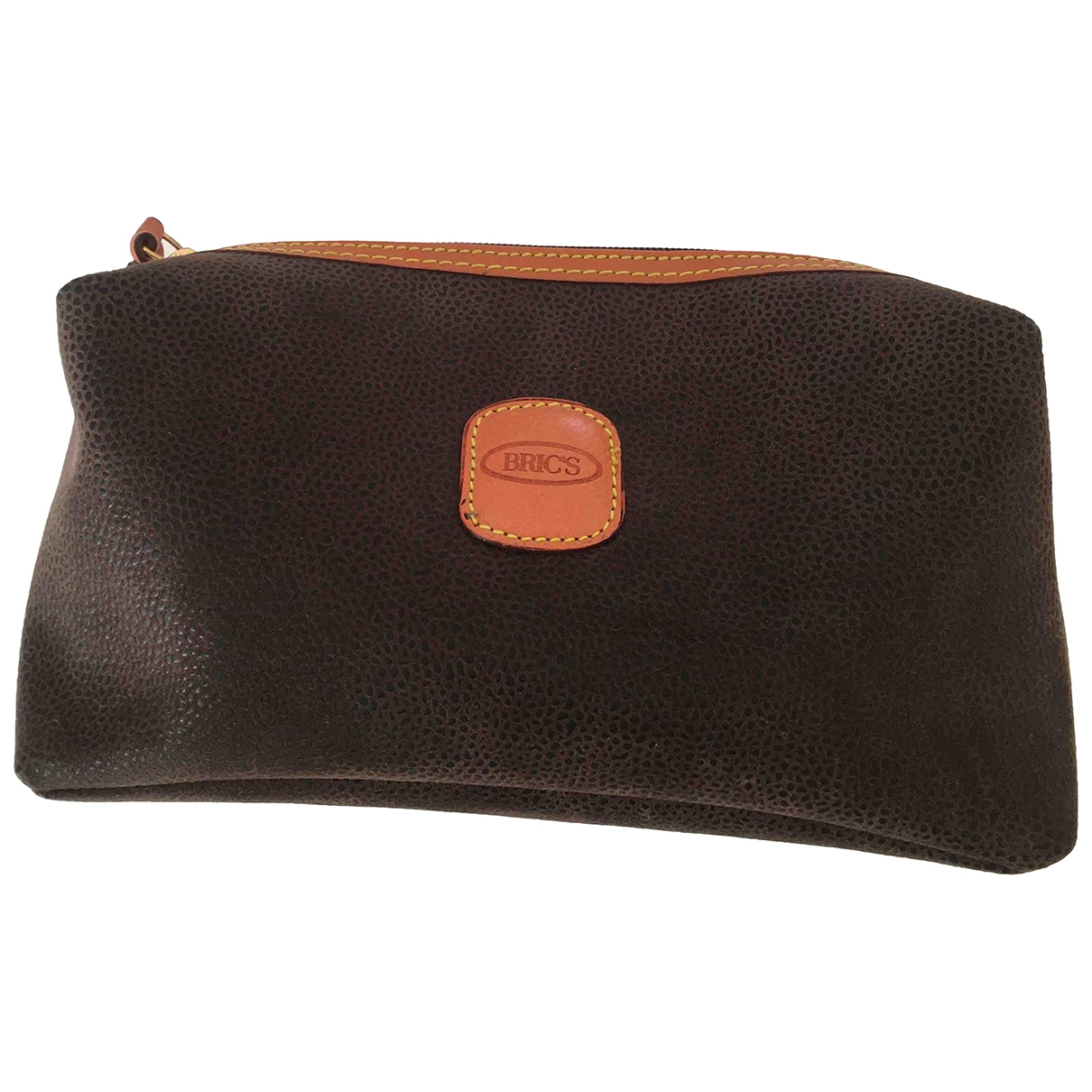 Bric's \N Brown Leather Clutch bag for Women \N