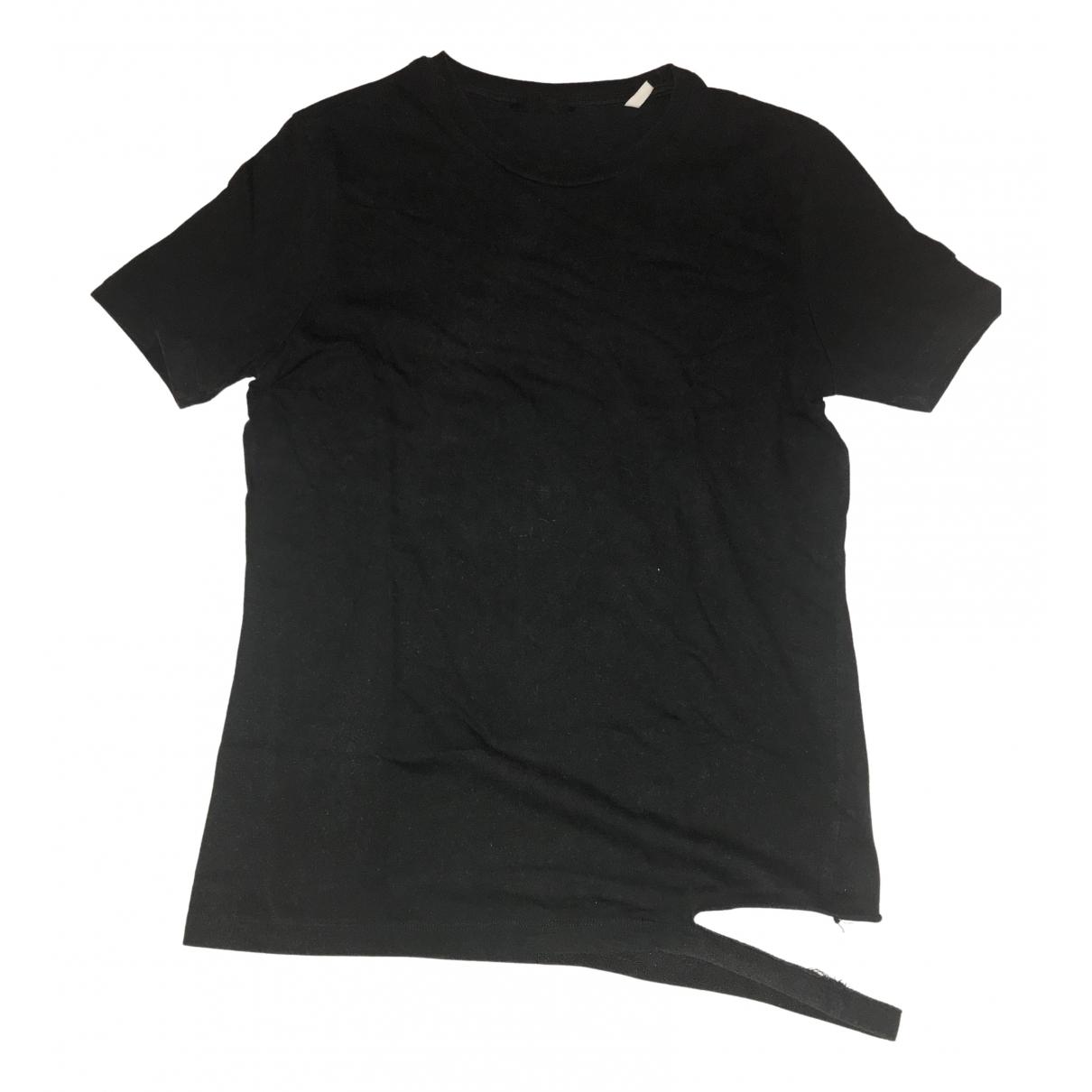 Helmut Lang \N T-Shirts in  Schwarz Baumwolle