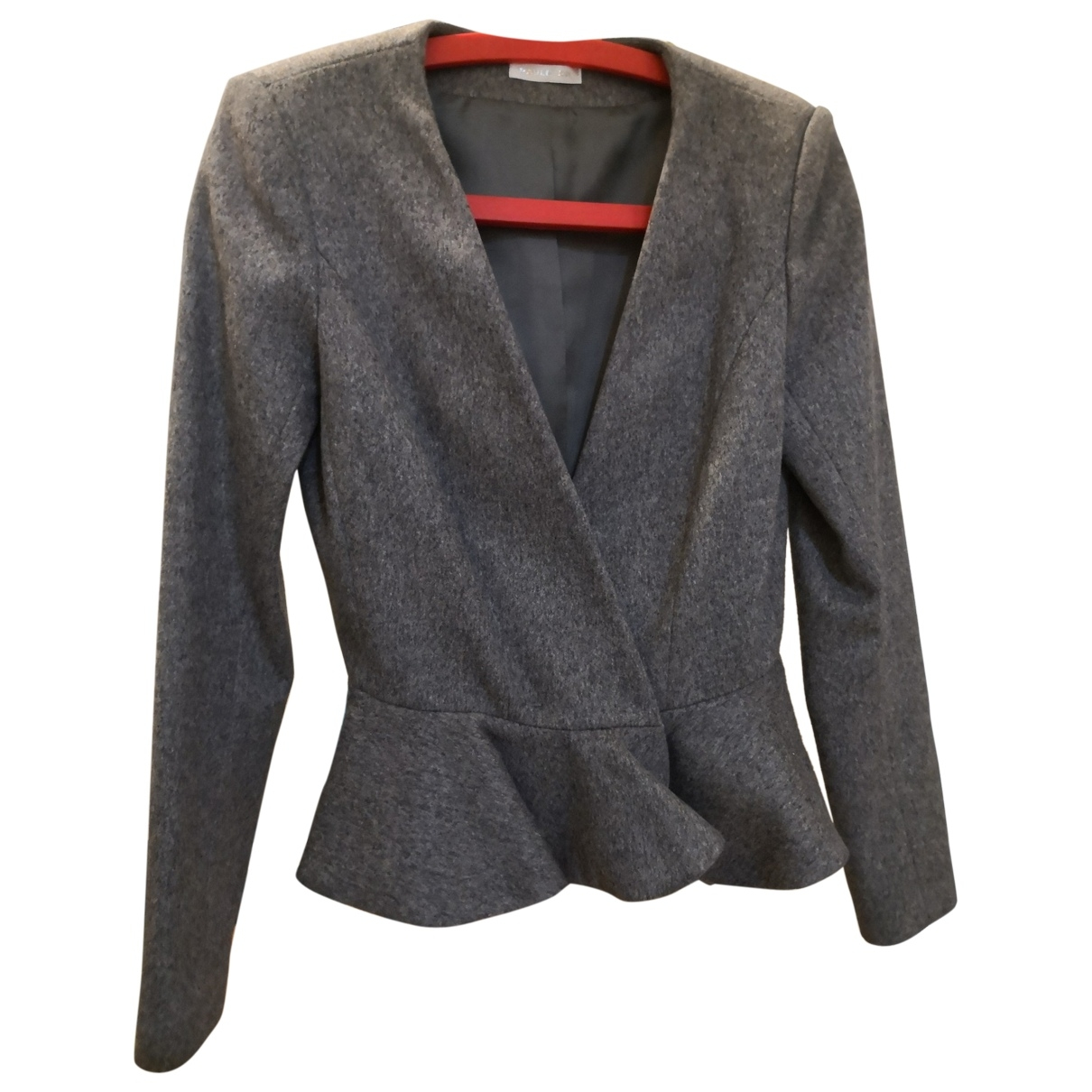 Paule Ka \N Grey Wool jacket for Women 36 FR