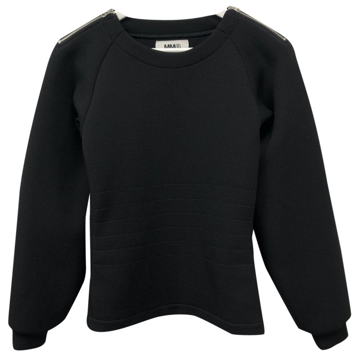 Mm6 N Black  top for Women M International