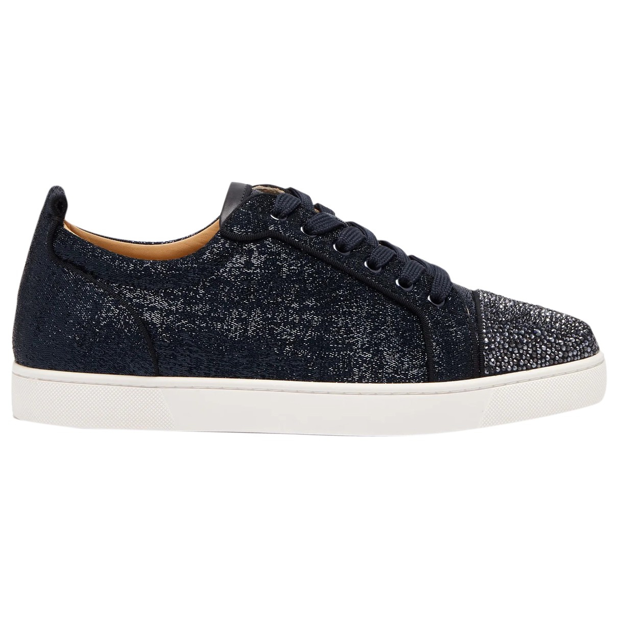 Christian Louboutin \N Sneakers in  Marine Leinen