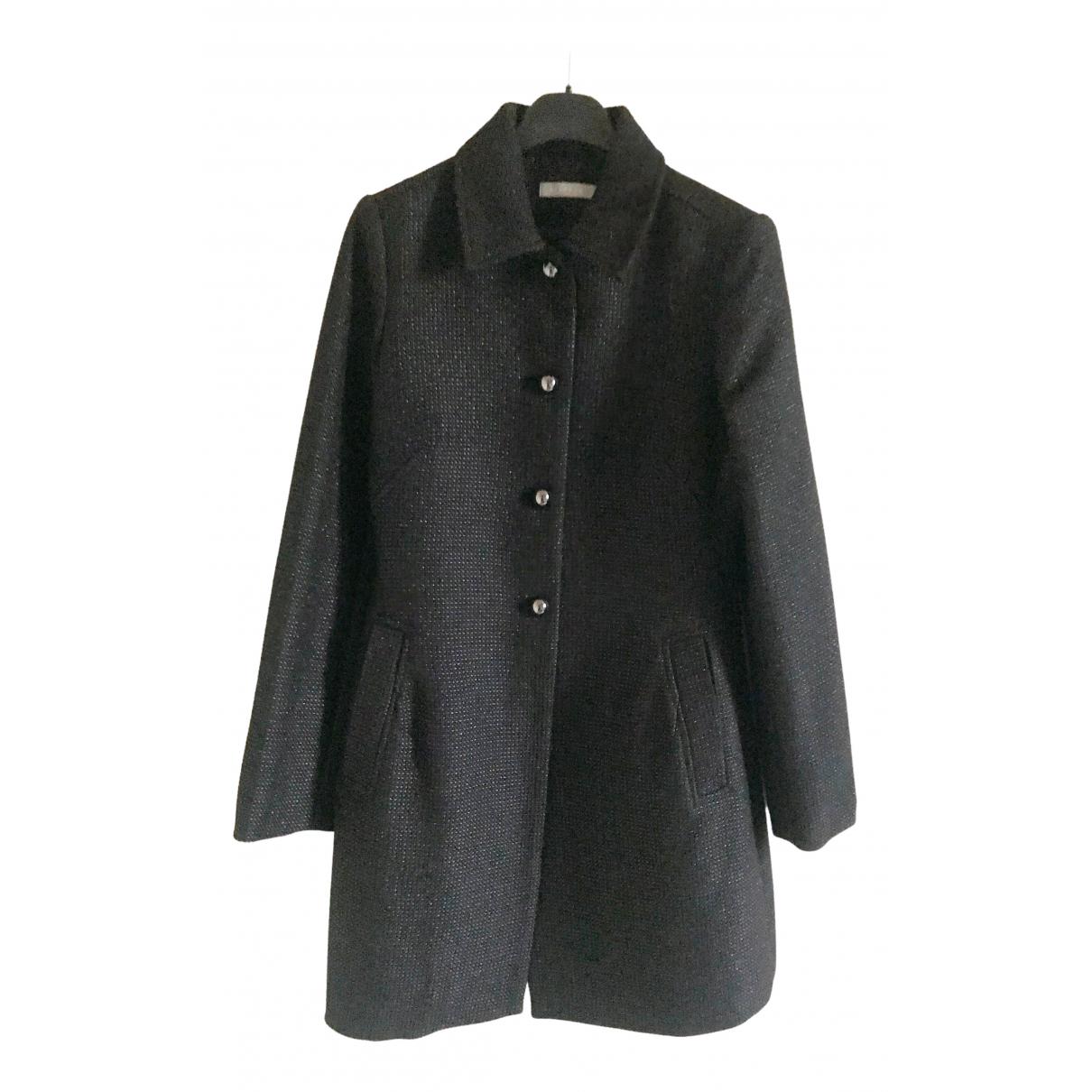 Stefanel - Manteau   pour femme - noir