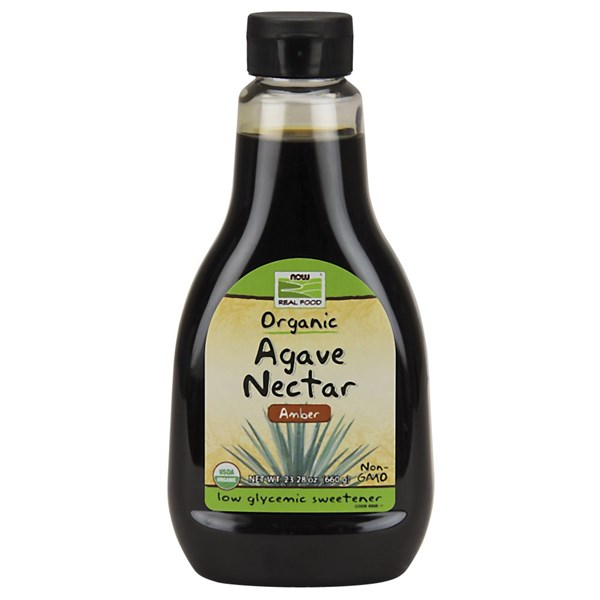 Agave Nectar (Amber) Organic 23.28 Oz by Now Foods