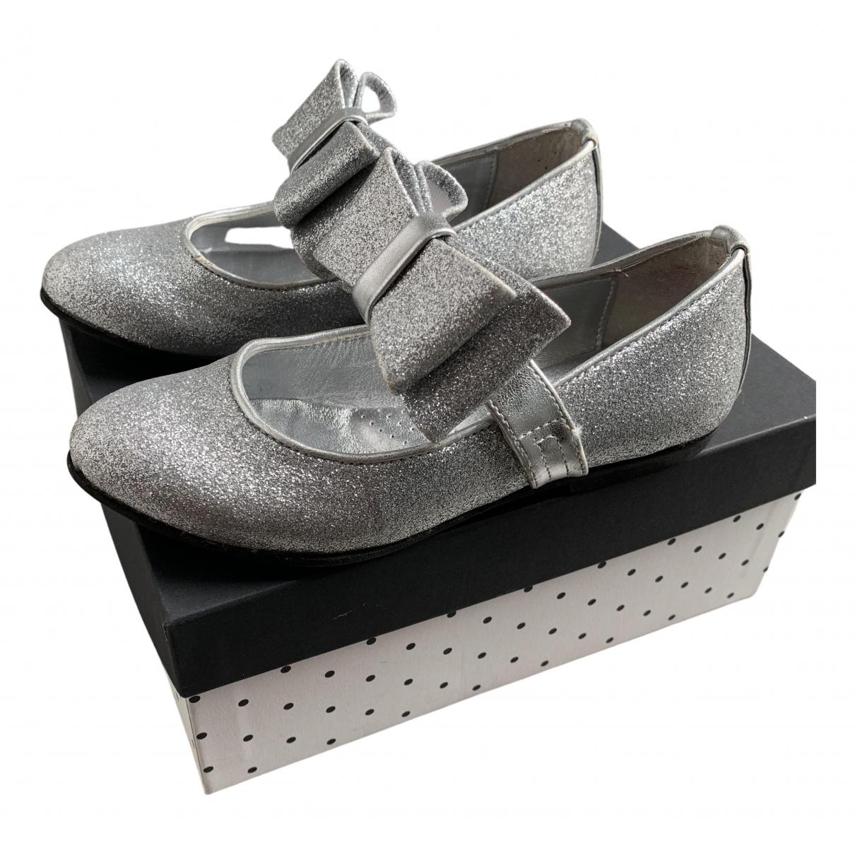 Monnalisa \N Silver Glitter Ballet flats for Kids 27 FR