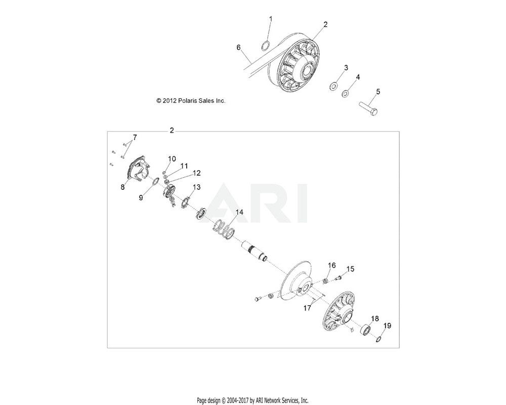Polaris OEM 3235246 ASM., CAM