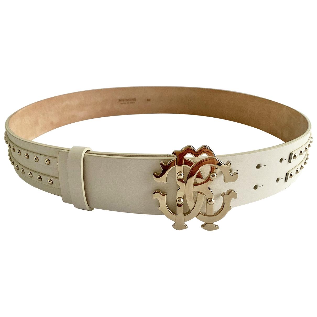 Cinturon de Cuero Roberto Cavalli