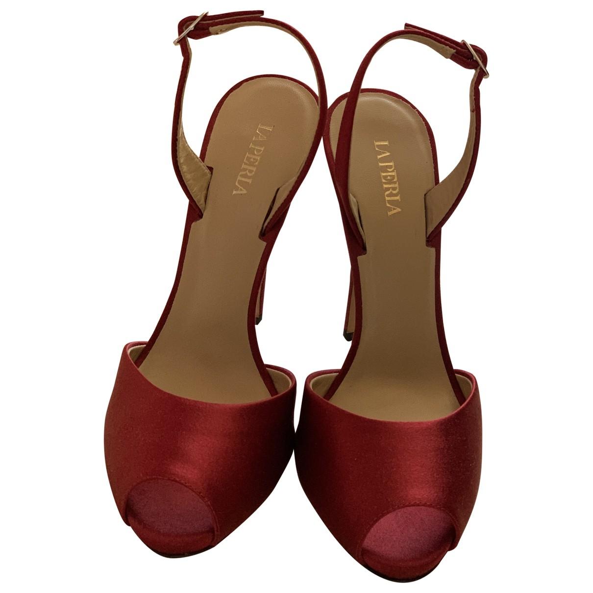 Sandalias romanas La Perla