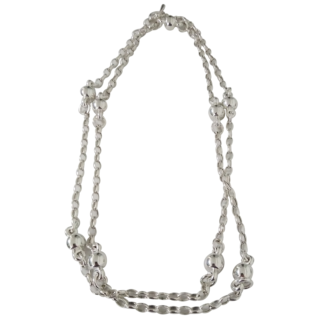 Non Signé / Unsigned \N Silver Silver Long necklace for Women \N