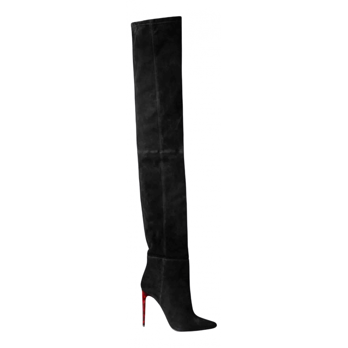 Balmain \N Black Leather Boots for Women 40 EU