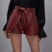 Shorts Bolsillo Liso Casual