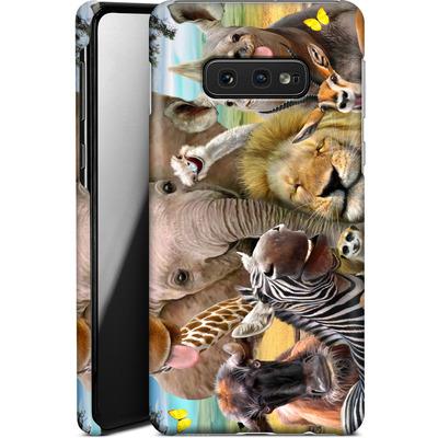 Samsung Galaxy S10e Smartphone Huelle - Africa Selfie von Howard Robinson