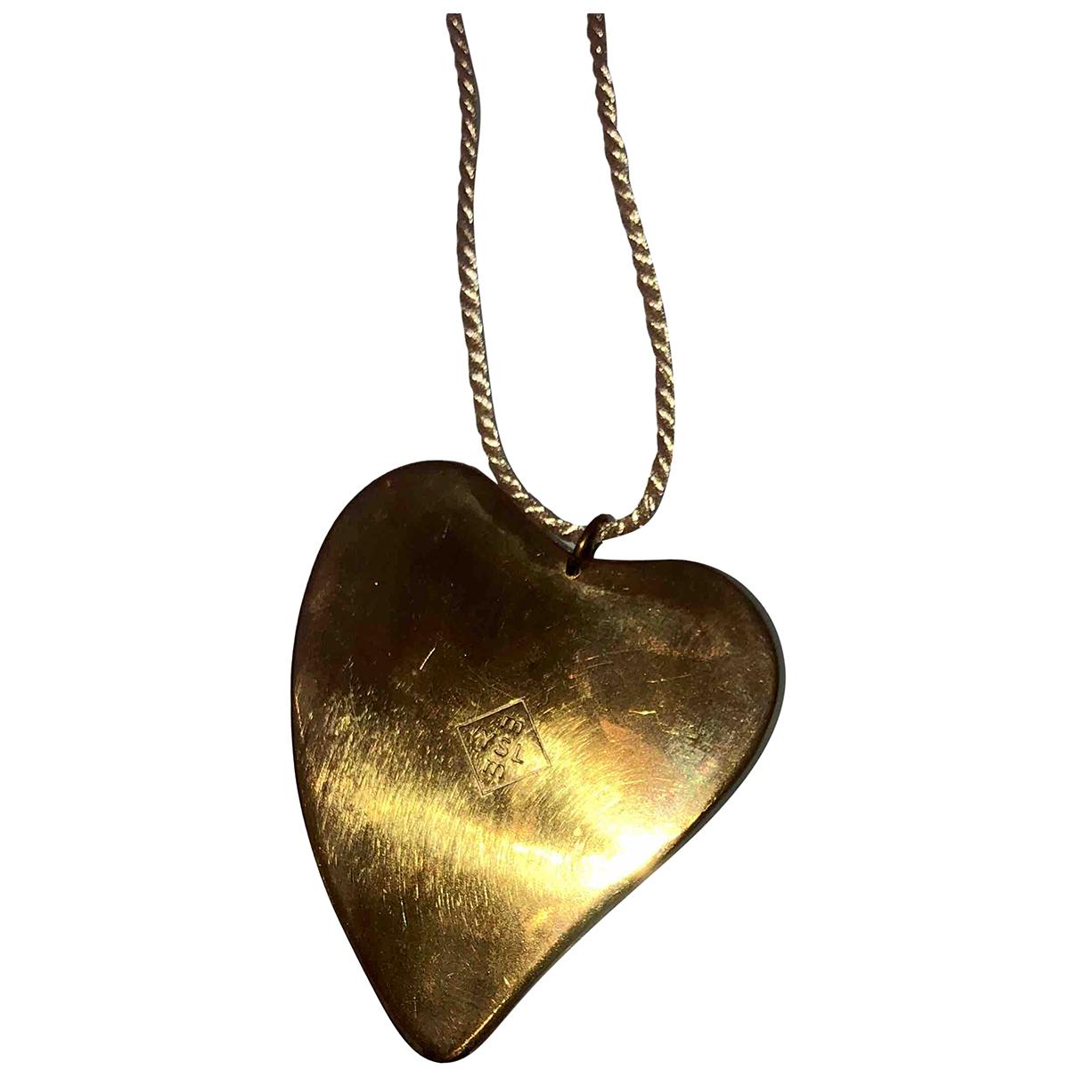 Saint Laurent \N Anhaenger in  Gold Metall
