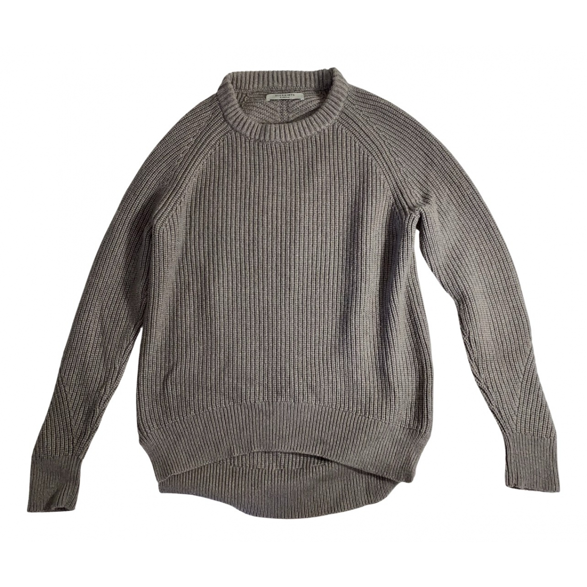 All Saints \N Pullover in  Grau Wolle